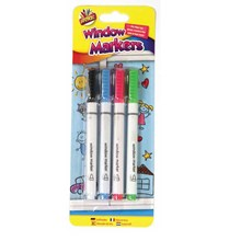 ARTBOX - WINDOW MARKERS - 4 PACK