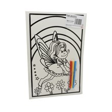 MEDIUM COLOURING BOARD - RAINBOW FAIRY