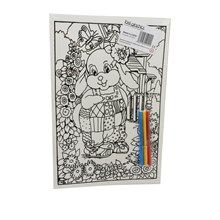 MEDIUM COLOURING BOARD - LAUGHING RABBIT