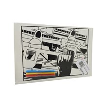 MEDIUM COLOURING BOARD - RACING CARS