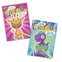 ARTBOX  - FOIL COLOURING BOOK - 2 ASSORTED