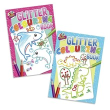 ARTBOX - GLITTER COLOURING BOOK - 2 ASSORTED