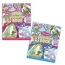ARTBOX - EASY COLOUR COLOURING BOOK - 2 ASSORTED