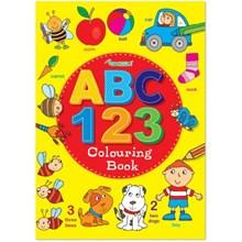A4 ABC 123 COLOURING BOOK