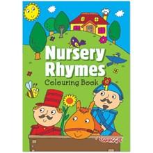 A4 NURSERY RHYMES COLOURING BOOK