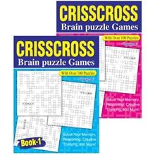 A4 CRISSCROSS PUZZLE BOOK