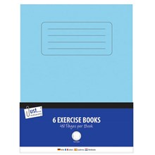 TALLON EXCERCISE BOOK 48 PAGES - 6 PACK