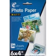"""CHILTERN PHOTO PAPER - MATT 6X4"""" - 26PACK"""