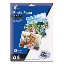CHILTERN PHOTO PAPER - MATT A4 - 8PACK