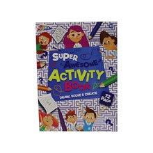 SUPER AWESOME ACTIVITY BOOK - 72 SHEETS
