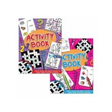 CHILDRENS SUPERIOR ACTIVITY BOOK - 4ASST
