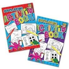 SUPER JUMBO ACTIVITY BOOK - 2 ASSORTED