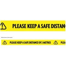 ULTRATAPE - KEEP SAFE DISTANCE TAPE - 50MMX33M