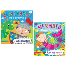 SQUIGGLE MAGIC PAINTING BOOK - 2 ASST