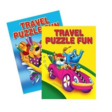 A4 TRAVEL PUZZLE FUN - 2 ASSORTED