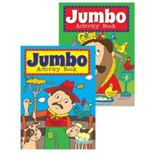 SQUIGGLE - JUMBO ACTIVITY BOOK 3&4 - 2 ASST