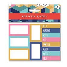 STICKY NOTES PACK - HASHTAG