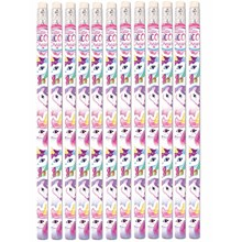 UNICORN PENCILS - 6 PACK