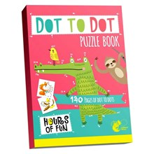 CHILTERN WOVE DOT TO DOT BOOK - 140 PAGES