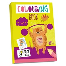 CHILTERN WOVE COLOURING BOOK - 140 PAGES