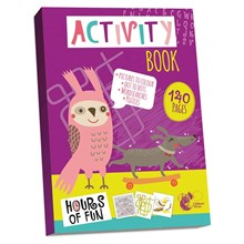 CHILTERN WOVE ACTIVITY BOOK - 140 PAGES