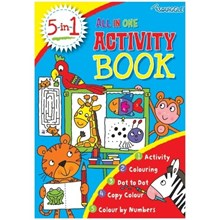 SQUIGGLE -  ALL IN ONE ACTIVITY BOOK