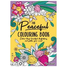 SQUIGGLE - THE PEACEFUL COLOURING BOOK
