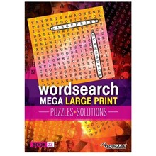 MEGA LARGE PRINT WORDSEARCH - BOOK 02