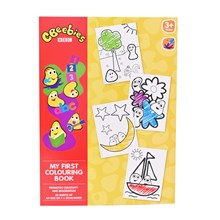 CBEEBIES - A4 COLOURING BOOK