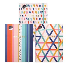A4 HARDBACK COVER NOTEBOOK - 200 SHEETS