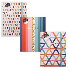 A5 HARDBACK COVER NOTEBOOK - 200 SHEETS