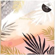 PHOTO ALBUM - 6X4 200 PACKET - LEAF DESIGN