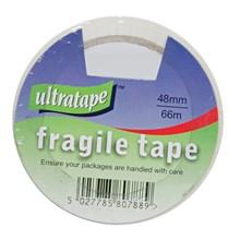 ULTRATAPE - FRAGILE TAPE  48MM X 66M