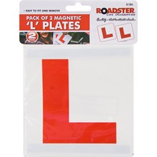 ROADSTER - MAGNETIC L PLATES - 2 PACK