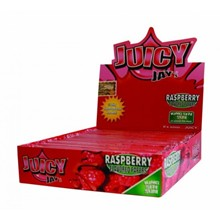KING SIZE PAPERS JUICY JAY RASPBERRY - 24 PACK