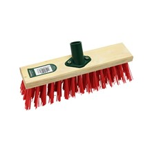 BENTLEY - RED PVC BRUSH HEAD - 11""