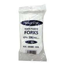 PLASTIC FORKS 100PC