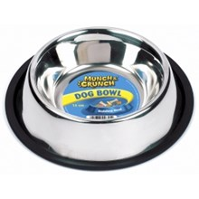 STAINLESS STEEL DOG BOWL 14 CM