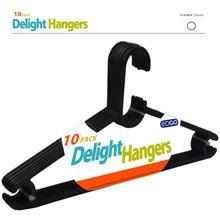 10PC DELUXE HANGERS