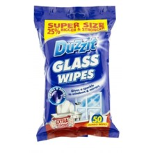 DUZZIT - GLASS JUMBO WIPES - 50 PACK