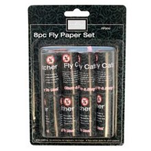 ASHLEY - FLY PAPER SET - 8 PACK