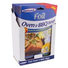 8PK FOIL OVEN & BBQ BAGS