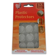 12PC ASSORTED PLASTIC PROTECTORS