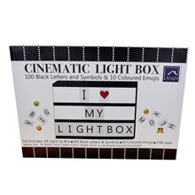 A4 LIGHT UP CINEMATIC MESSAGE BOX IN COLOUR