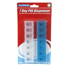1ST AID - 7 DAY PILL DISPENSER