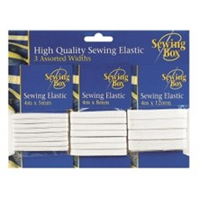 3PK SEWING ELASTIC