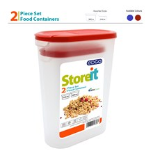 EDGO - STOREIT FOOD CONTAINER SET - 2 PACK