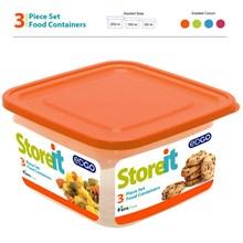 EDGO - STOREIT 3PC FOOD CONTAINER SET