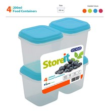 EDGO - STOREIT 200ML FOOD CONTAINER SET - 4 PACK