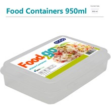EDGO - FOOD2GO 950ML FOOD CONTAINER